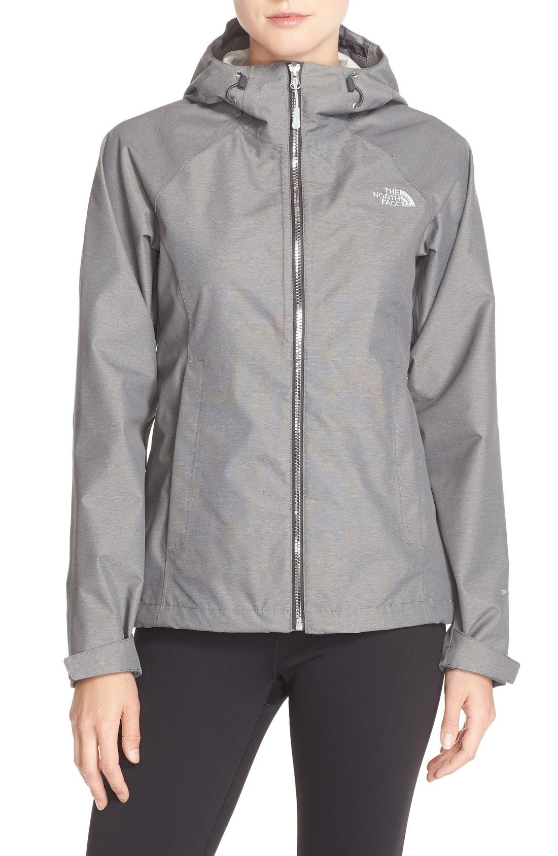 6437ffe8948a The North Face  Magnolia  Waterproof Rain Jacket (Nordstrom Exclusive)  available at  Nordstrom. In black