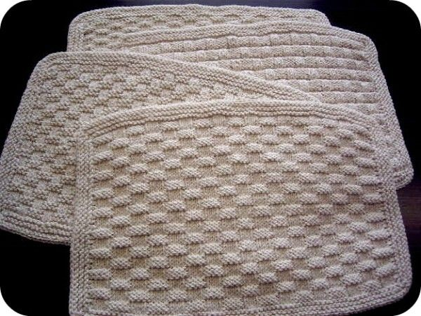 Guest Posts Crochet Placemat Patterns Basketweave Stitch Placemats Patterns