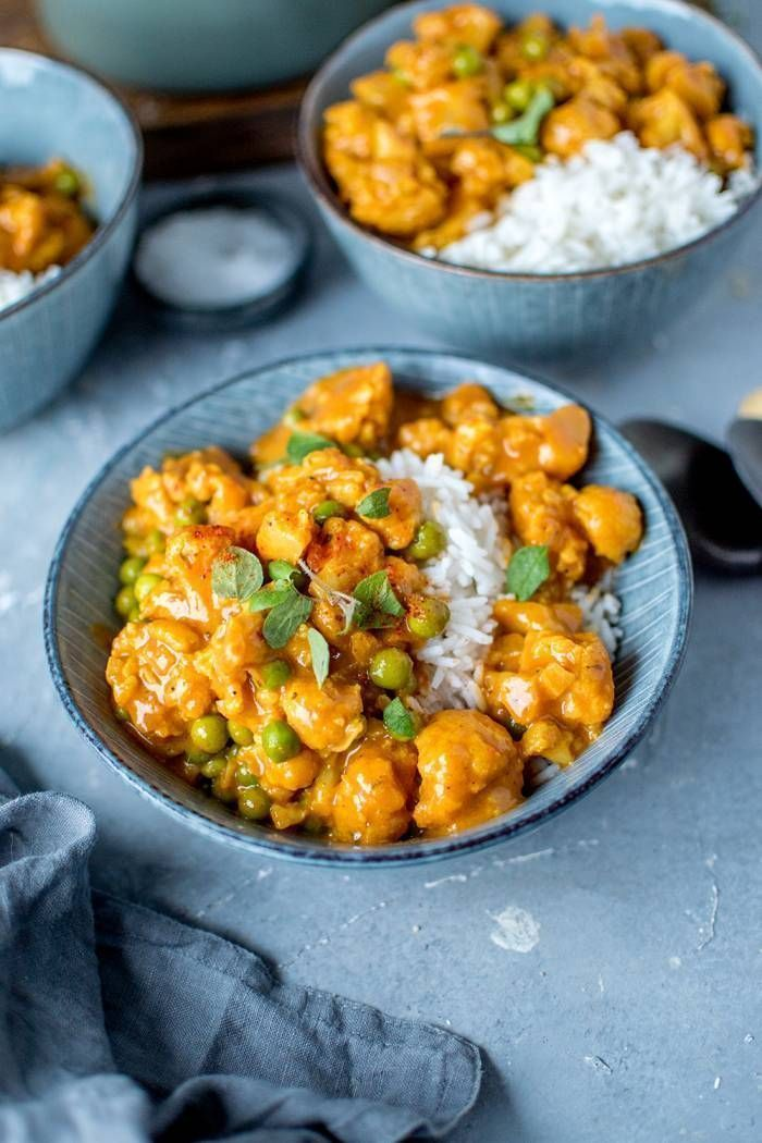 Blumenkohl-Curry: Vegetarisches Soulfood ⋆ Knusper