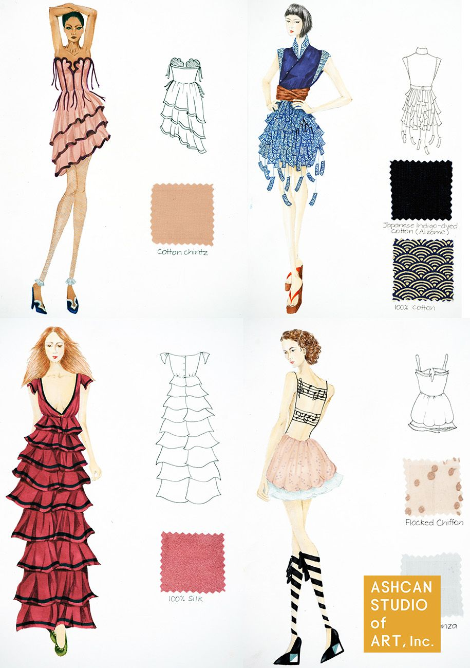 clothing fashion design essay I want to be a fashion designer because its another way to express myself if i did i would become one because im a very artistic person who loves fashion i think clothing is beautiful and can compliment any body type also.