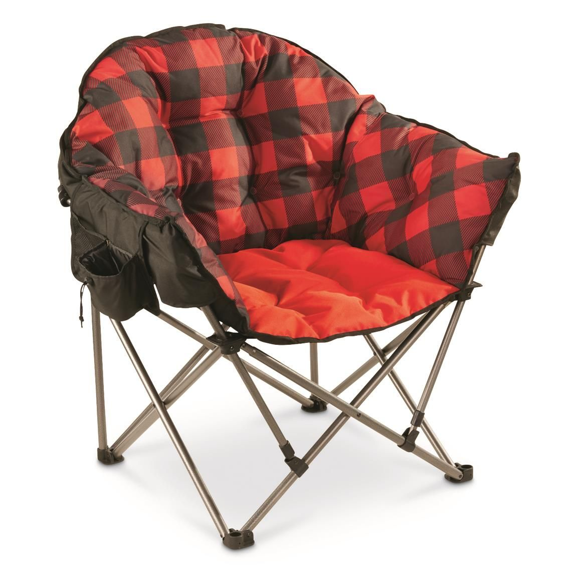Photo of Guide Gear Oversized Club Camp Chair, 500-lb. Capacity – $89.99
