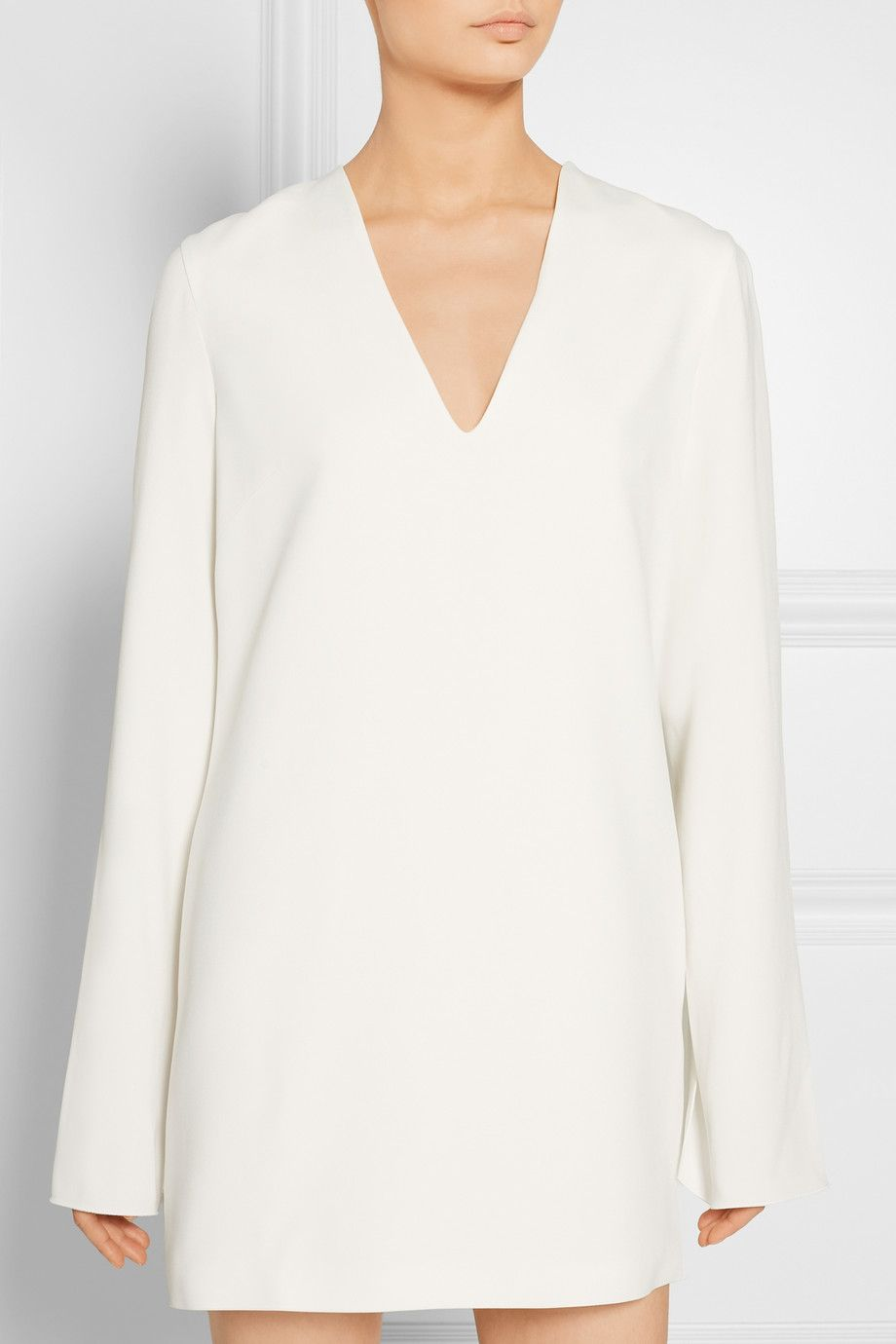 Dion Lee | Cape-effect stretch-crepe mini dress | NET-A-