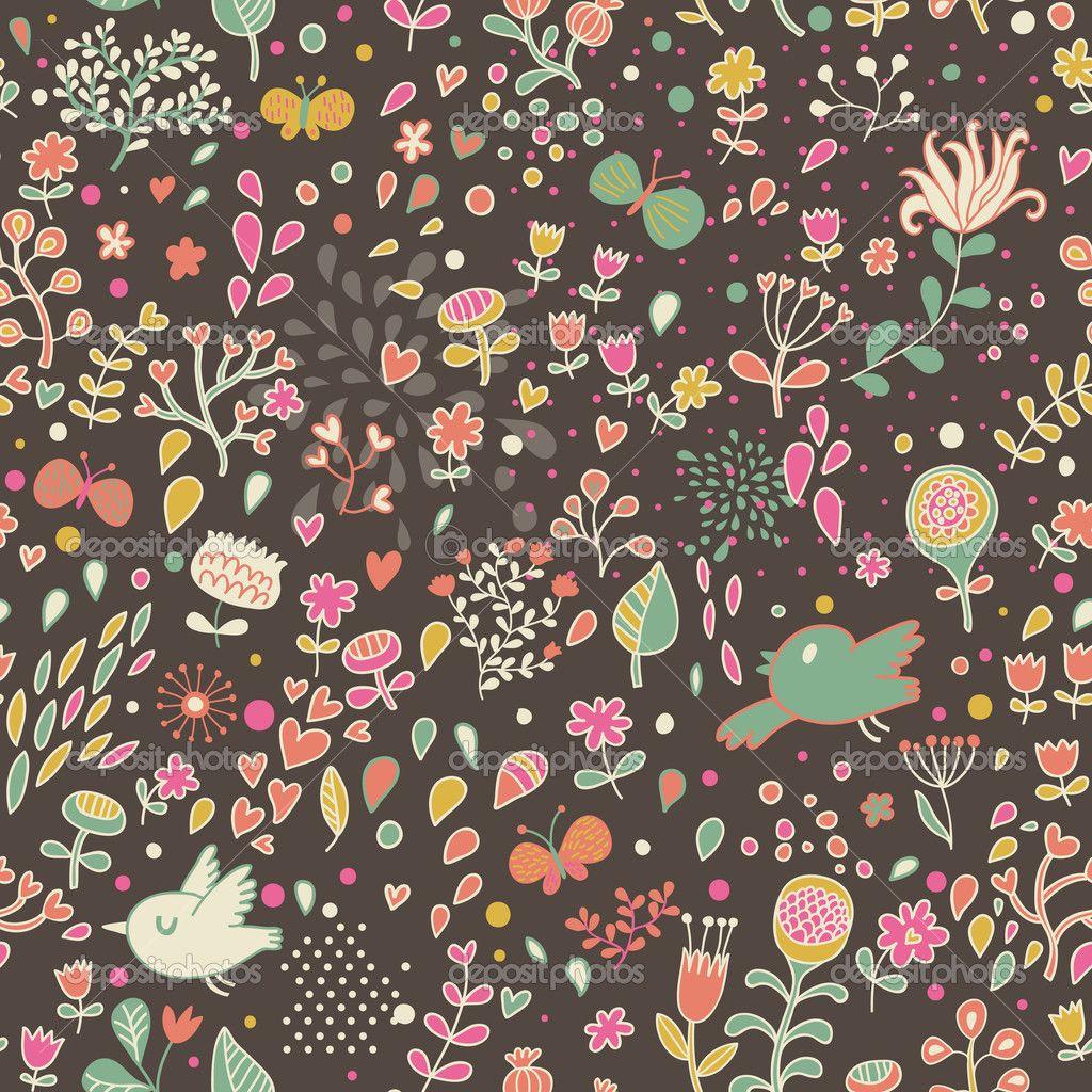 Fondos De Flores Vintage En Widescreen 2
