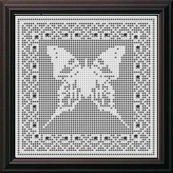 Filet Butterfly and Hearts Crochet Afghan Pattern for Sale at ...