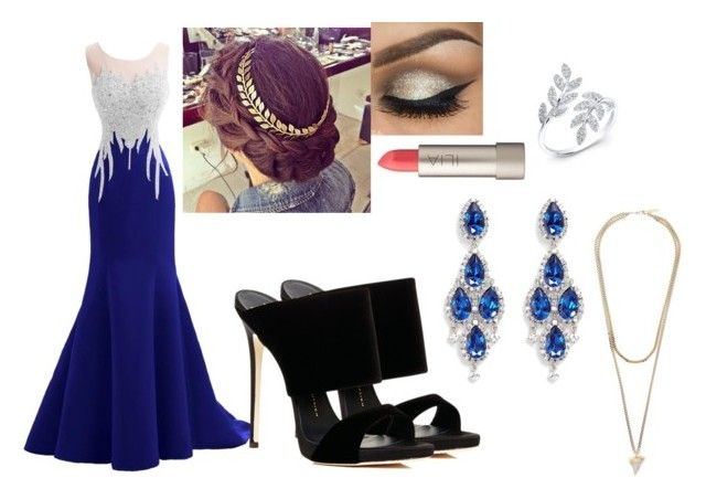 """""""Chelsea"""" by oomfoveryou ❤ liked on Polyvore featuring Giuseppe Zanotti, Ilia, Givenchy and CZ by Kenneth Jay Lane"""