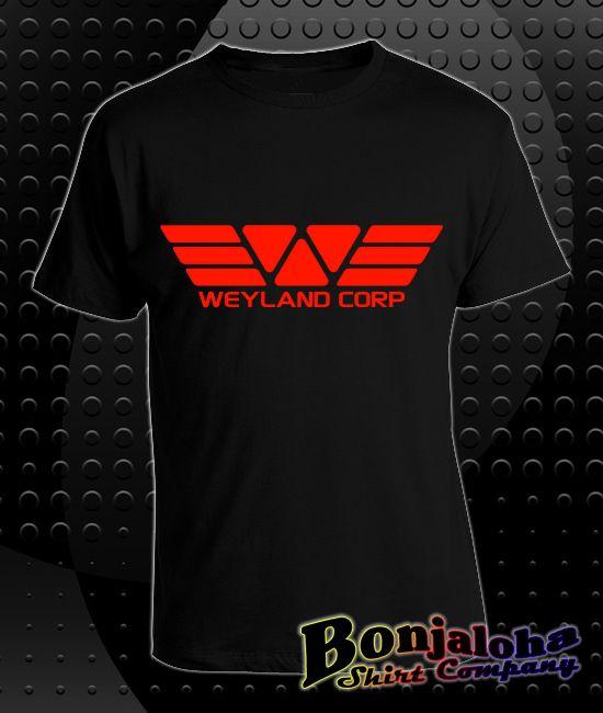 Prometheus - Weyland Corp Logo (T-Shirt) - Outlaw Custom Designs, LLC