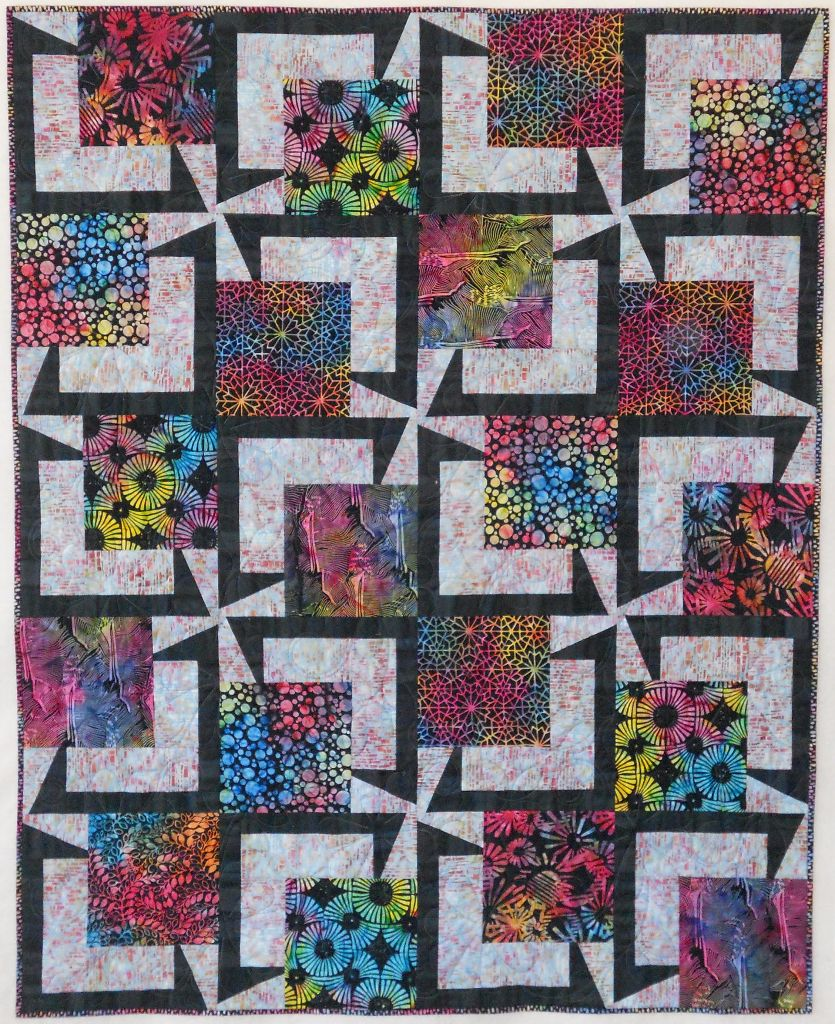 Bq5 20 135 Blocks Using 5 Fabrics For The Centers 54 X 67
