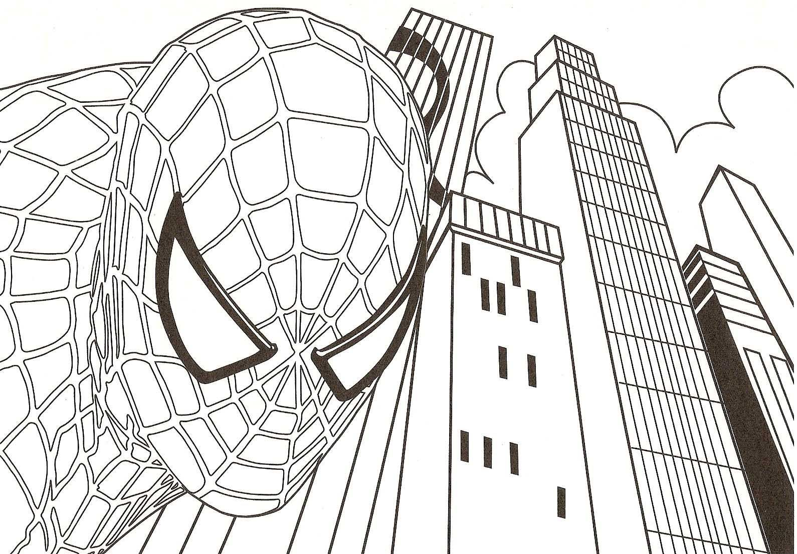 spiderman coloring pages printable free - Google Search | Bug\'s ...