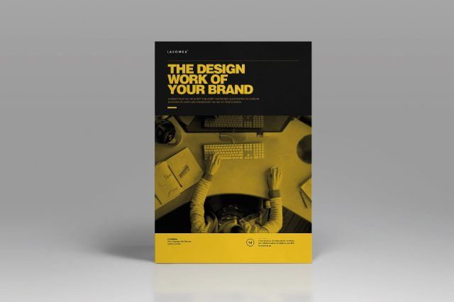 Studio Brochure Template  Boris Vargas  Graphic Design