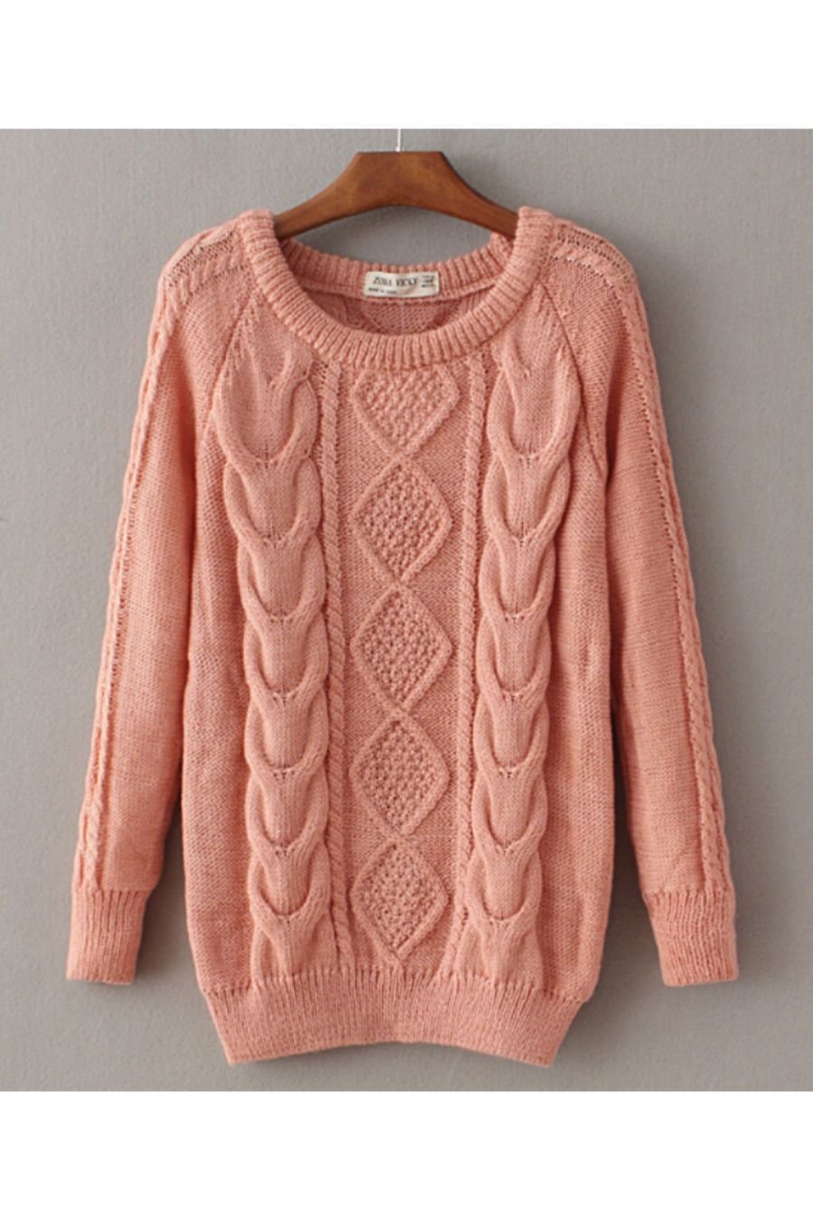 Classic Cable Knit Sweater | Cable knit sweaters, Cable knitting ...