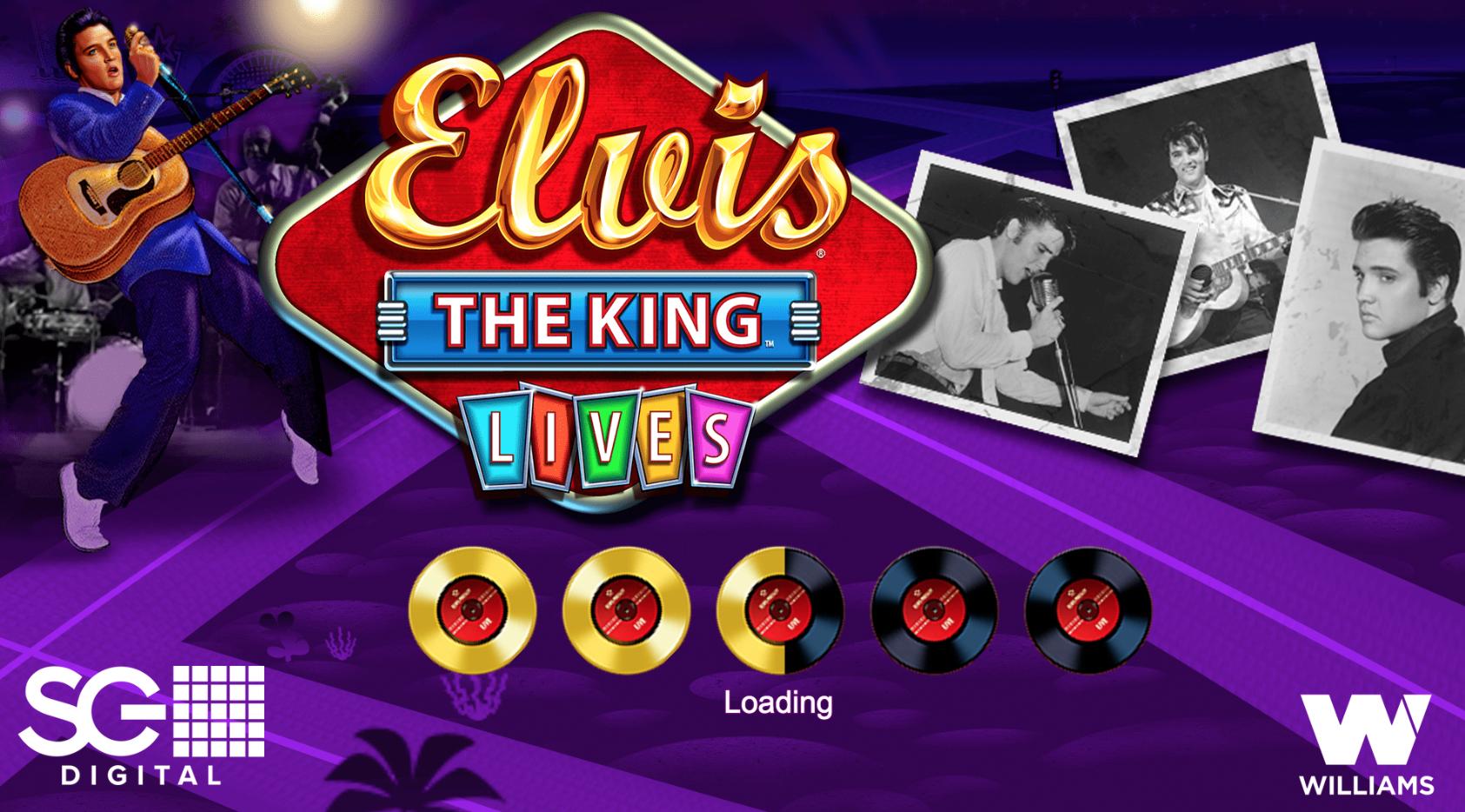 Elvis The King Slot Machine Online