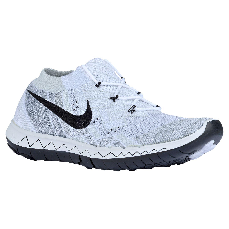 Schwarz Cool Grau Weiß Damen Schuhe Nike Free 1.0 Cross