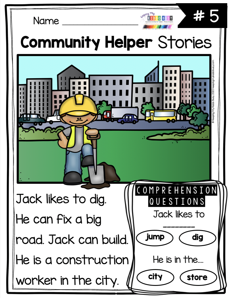 All About Me And My Community Freebies Keeping My Kiddo Busy Community Helpers Kindergarten Community Helpers Preschool Community Helpers Worksheets [ 1032 x 800 Pixel ]