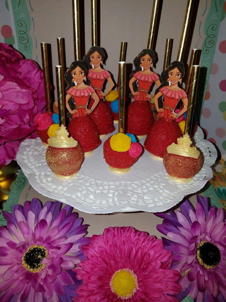 Princess Elena of Avalor Cake Pops!
