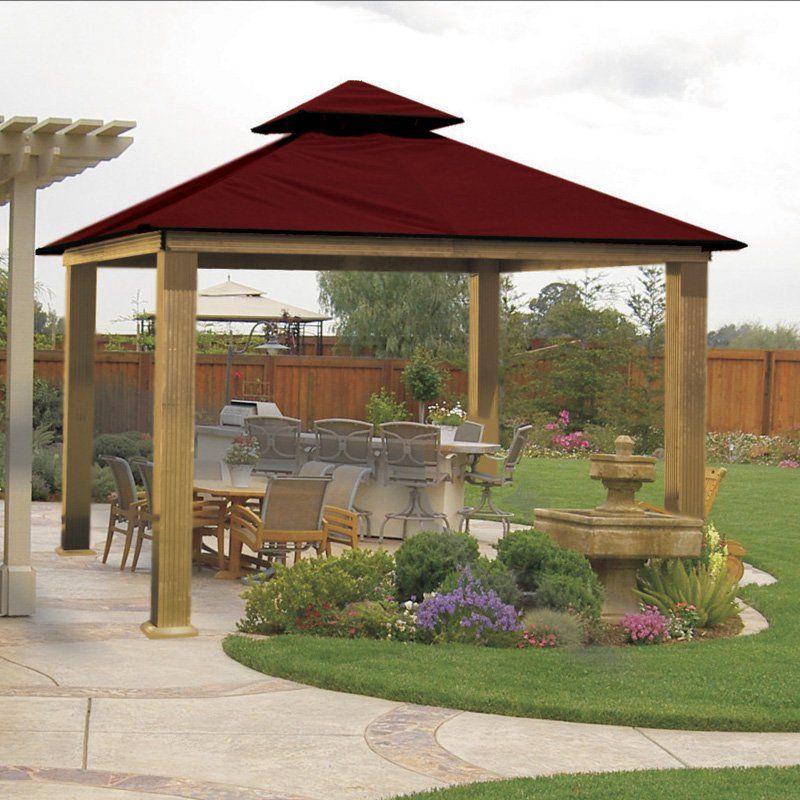 ACACIA By Riverstone Industries Gazebo Canopy