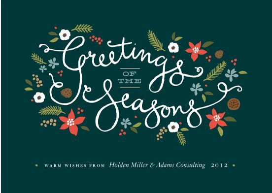 The Top 3 Business Holiday Card Winners Business holiday cards