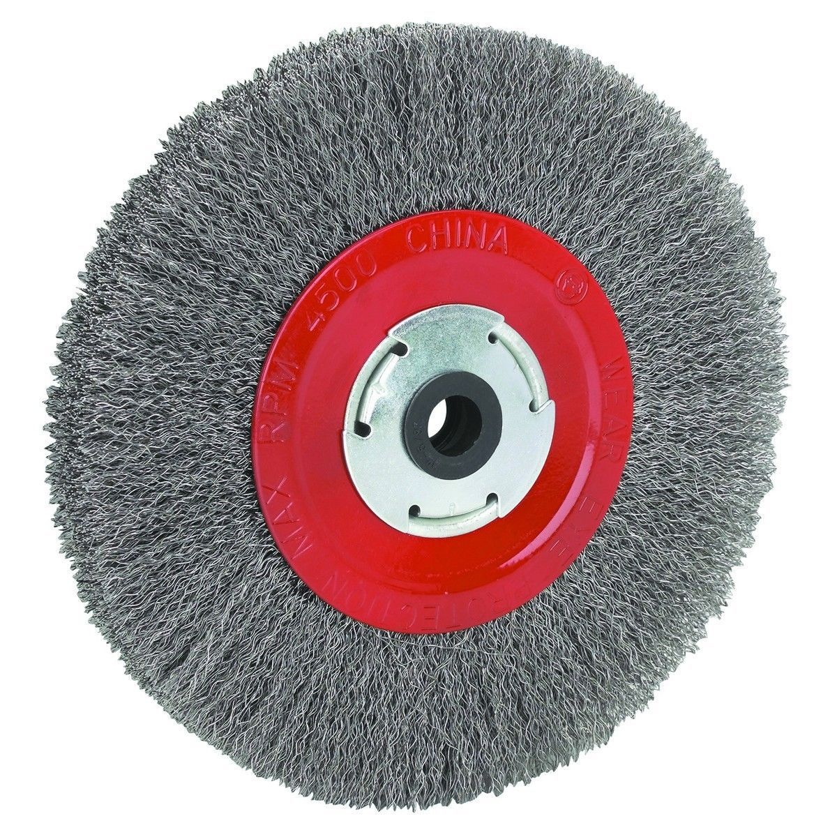 Grinder Wheels And Accessories 79703 8 Inch Round Wire Wheel For