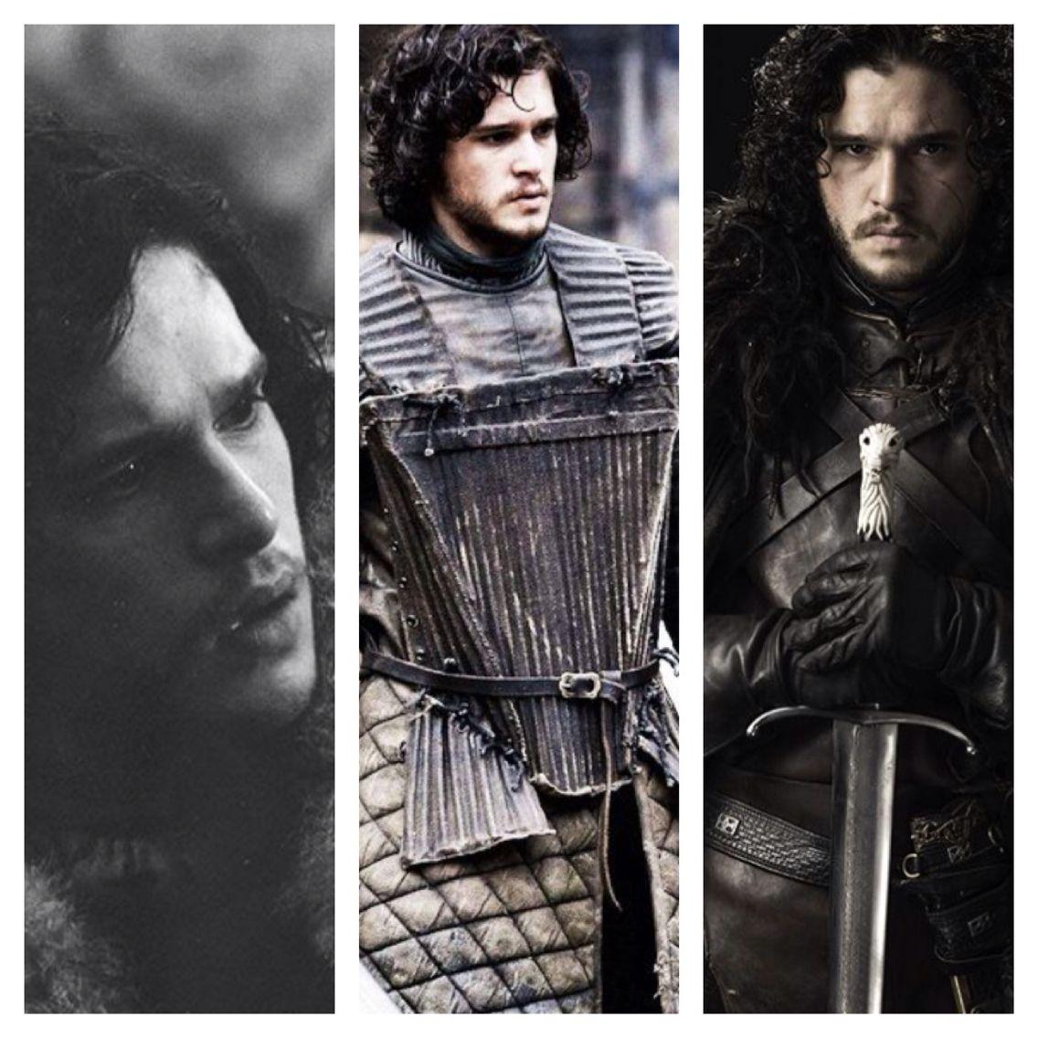 The evolution of Jon Snow