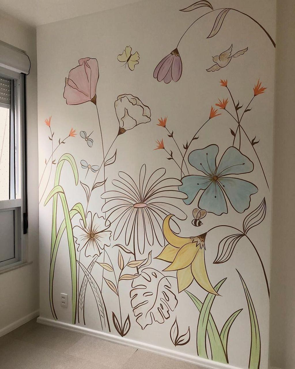 Pitturare casa fai da te guida dalla a alla z: 30 Latest Wall Painting Ideas For Home To Try Interior Design Wall Decor Home Wall Art Wall Murals Diy