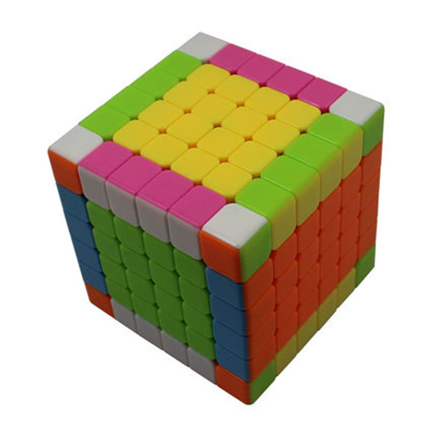 Color Cube Puzzle Twist Magic Cube Speed Intelligence Cube Twist Puzzle Spinner Hand Anti Stress Neo Cubo Magico 6x6x6 501971 Cube Puzzle Cube Rubiks Cube