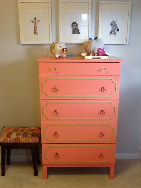 ikea tarva dresser refinished. Painted Ikea Tarva Dresser Refinished