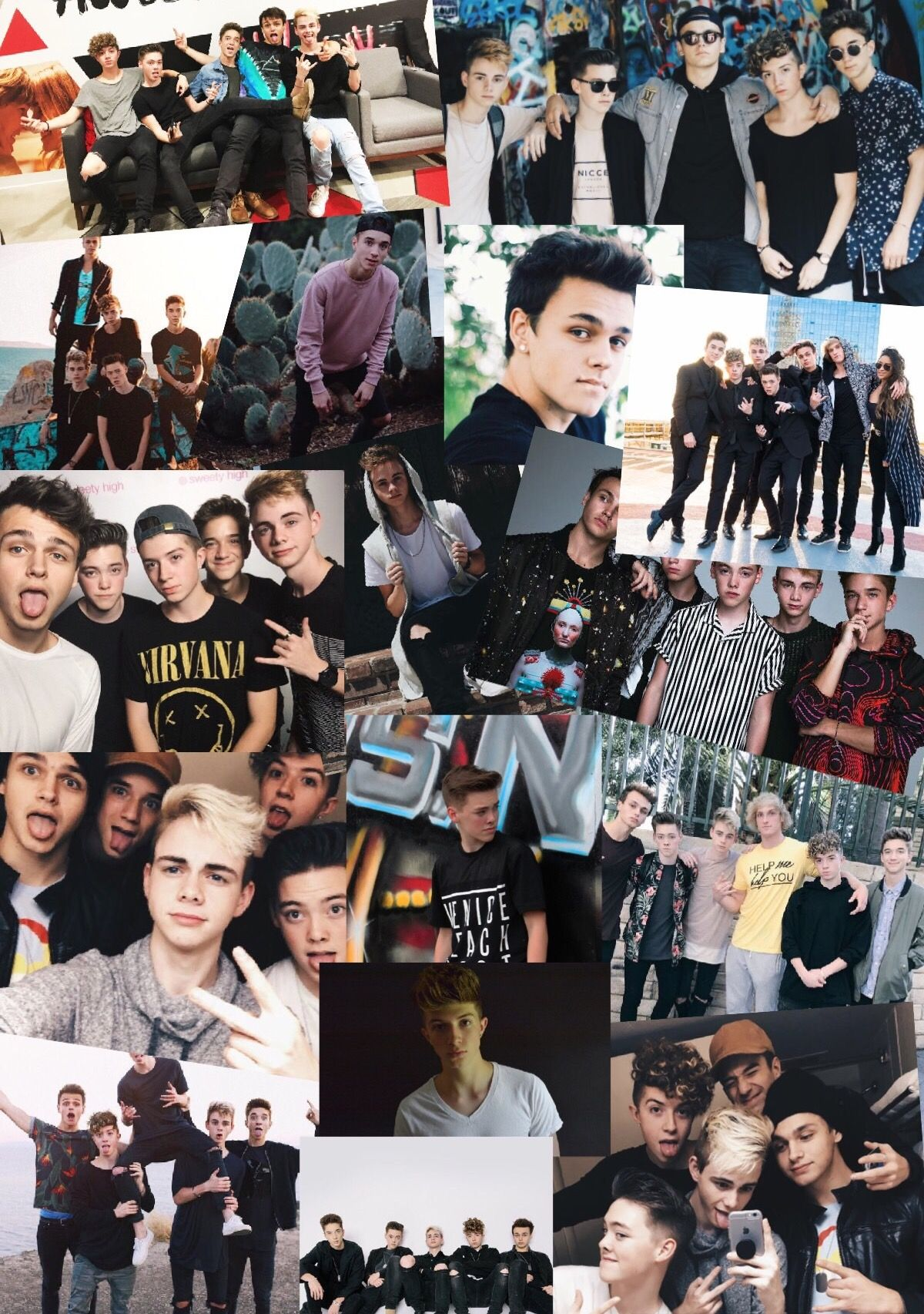 Why Don T We Collage Why Dont We Imagines Wdw Why Dont We Boys