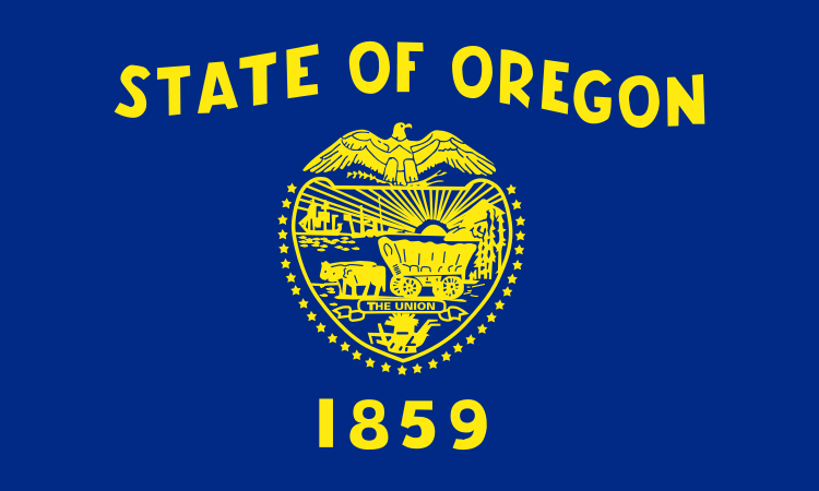 File Flag Of Oregon Svg Wikipedia The Free Encyclopedia Oregon State Flag State Of Oregon State Flags