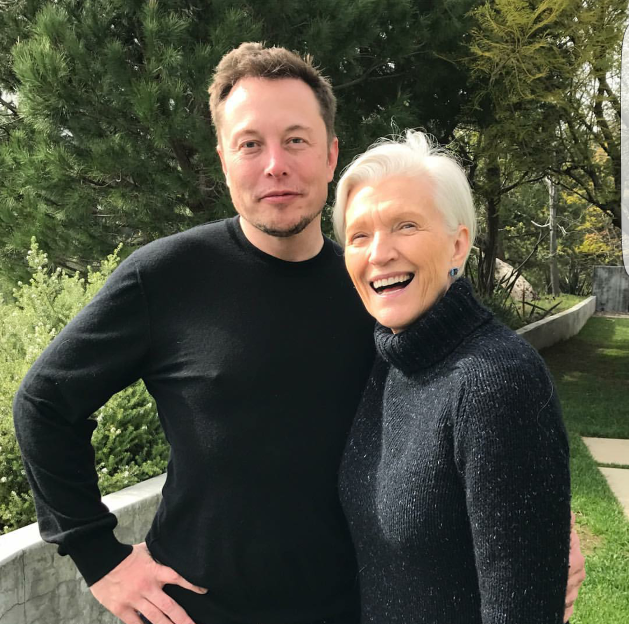 Elon with his mother Maye musk  ❤ | Attention-grabbers