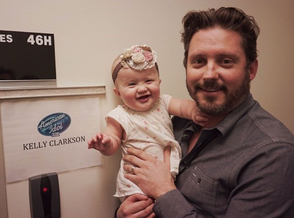 Kelly Clarkson Brings River Rose To American Idol Kelly Clarkson Kelly Clarkson Family American Idol