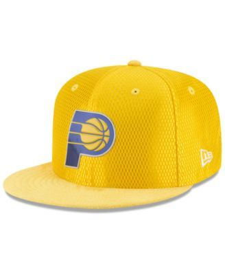 the best attitude 38e59 1c8e6 New Era Indiana Pacers On Court Reverse 9FIFTY Snapback Cap - Gold  Adjustable