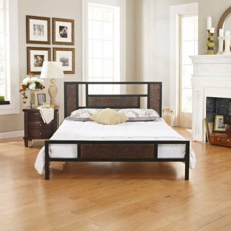 179 00 Premier Christa Queen Metal Platform Bed Frame With Bonus