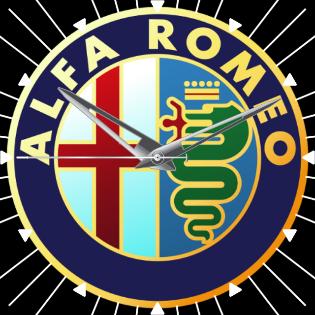 Alfa Romeo watch face Carros