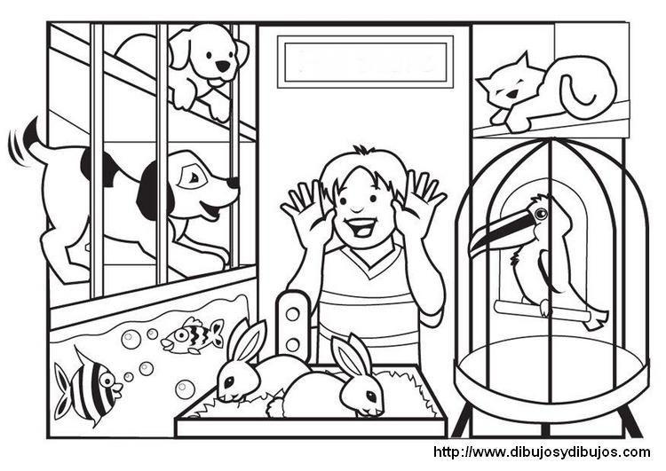 Dibujos tiendas para colorear - Buscar con Google | Preschool ...