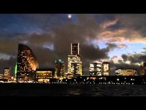 ▶ Night cruise at the harbor in Yokohama - YouTube