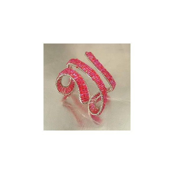 A cool and orignal bracelet, the Pink Shogun is a true work of art. Best of all, it is flexible and will fit almost any wrist size.