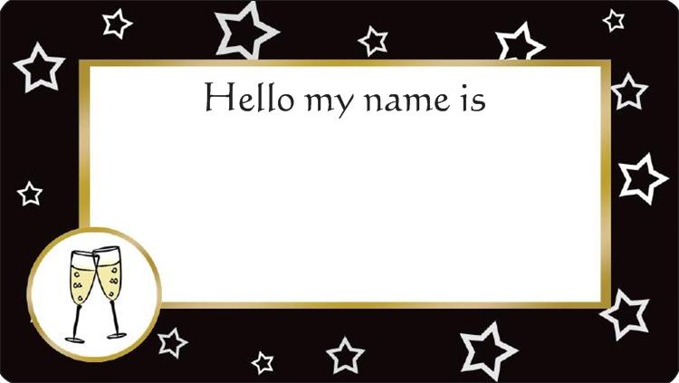 Name Tags Wedding