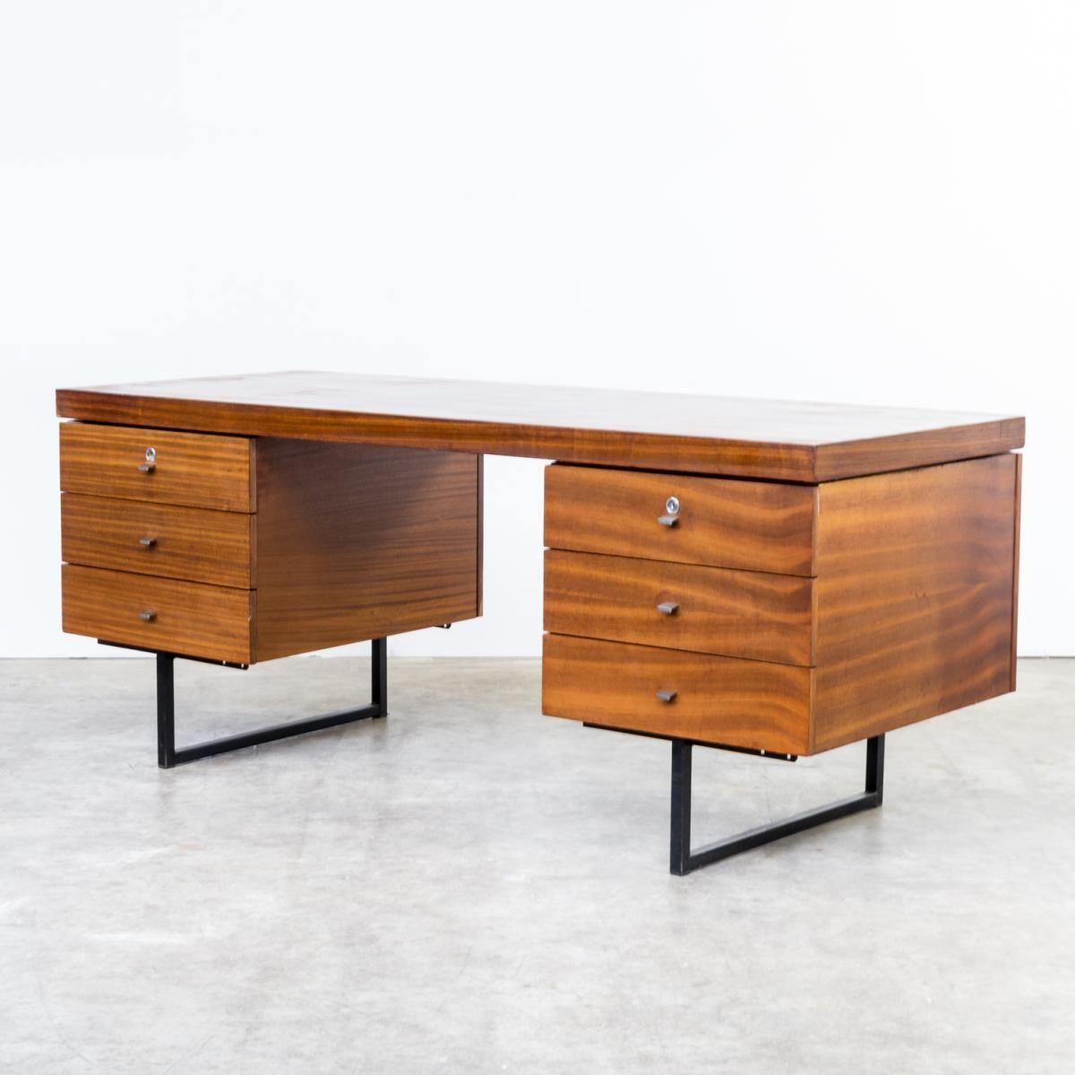 bureau ministre de pierre guariche pour meurop 1961 meurop vintage furniture pinterest. Black Bedroom Furniture Sets. Home Design Ideas