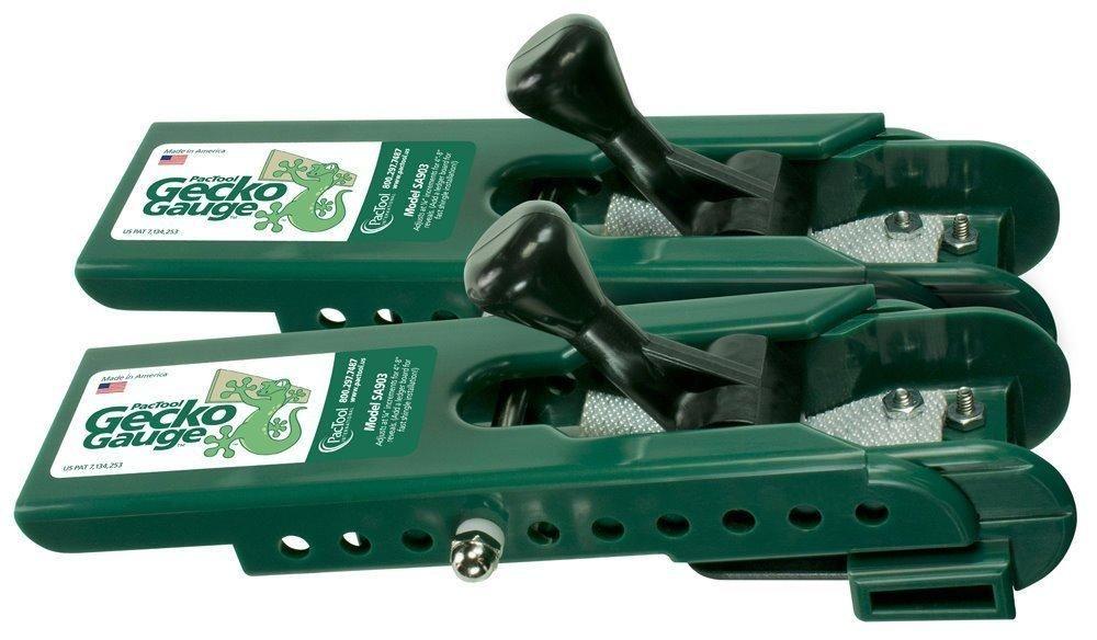 Pactool Sa903 Gecko Gauge Hardi Board Siding Gauge 4 Cement Siding Installation Installing Siding Cement Siding