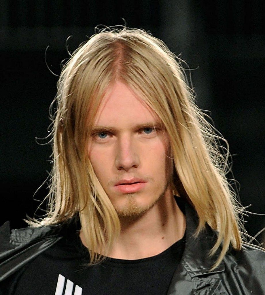 Haircut for thin hair men  stately long hairstyles for men to sport with dignity  straight