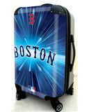 """Boston Red Sox, 21"""" Clear Poly Carry-On Luggage by Kaybull #BOS5   OBM Distribution, Inc."""