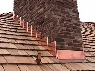 Copper Step Flashing Roanoke Swva Exteriorremodeling