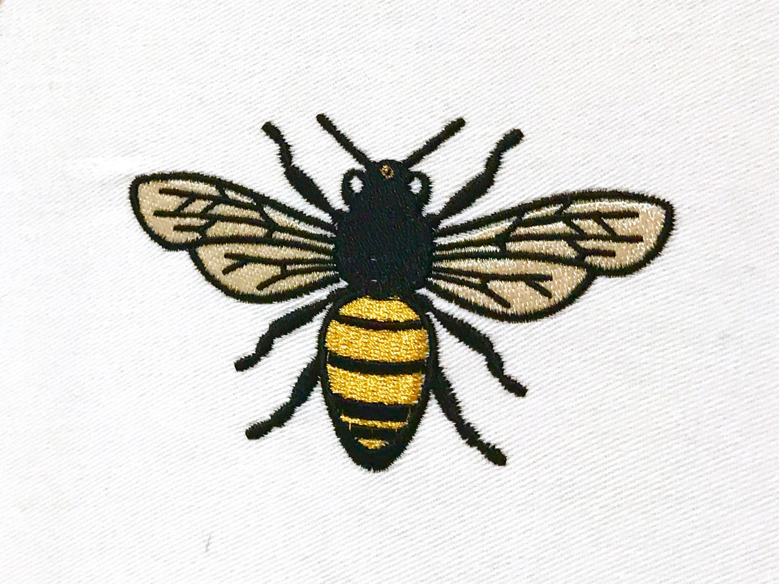 402f848af Bee embroidery - Machine Embroidery File design 4 x 4 inch hoop by  Oopsidaisi on Etsy