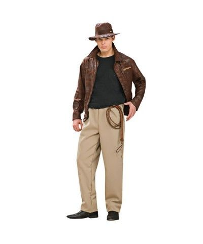 Indiana Jones Deluxe Mens Costume MOVIES Costume Pinterest - mens homemade halloween costume ideas