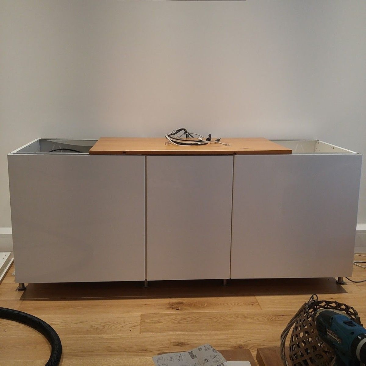 Ikea Method Ikea Metod Cabinets Into Av Unit