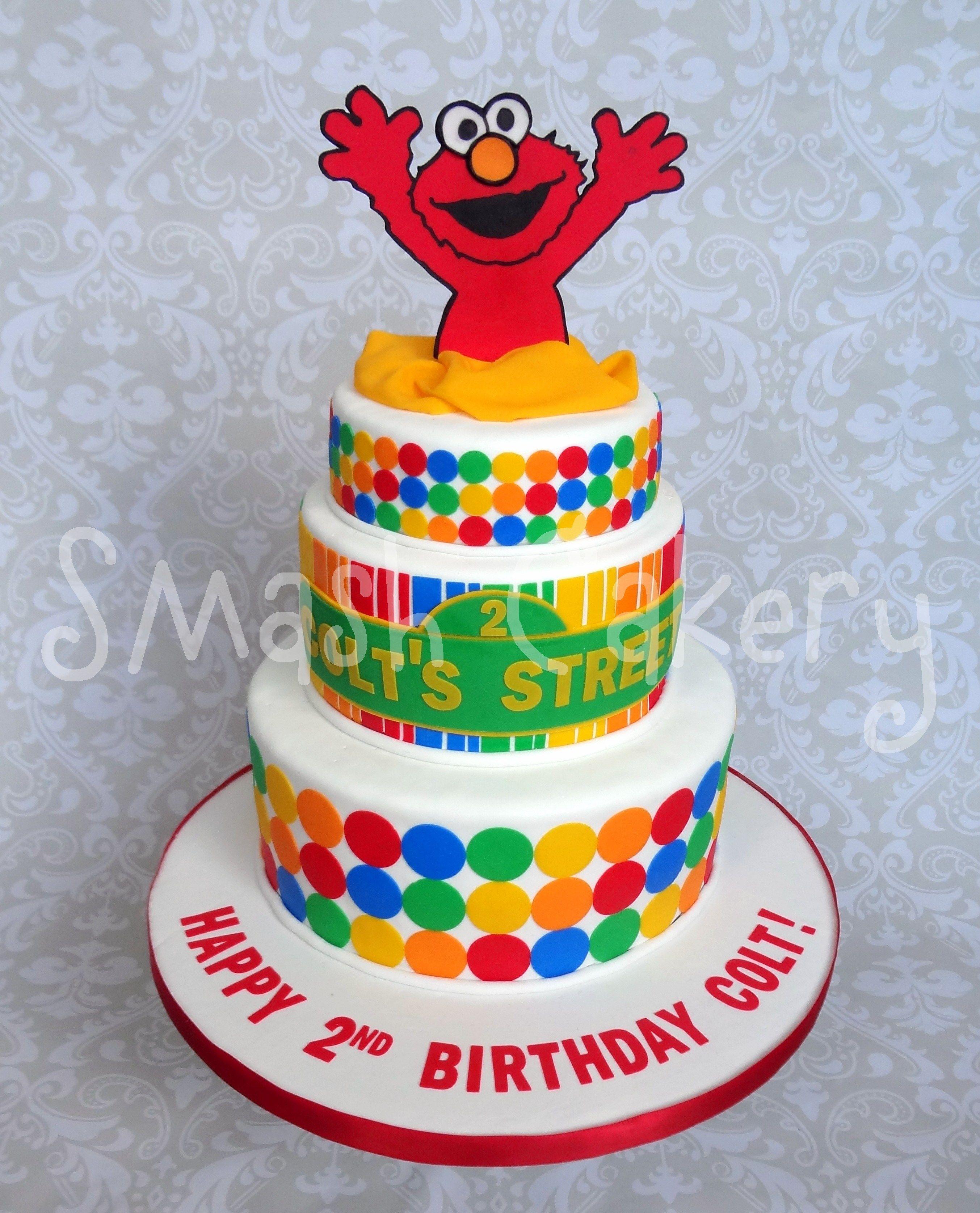 Elmo Birthday Cake This design was inspired by Jessica Harris