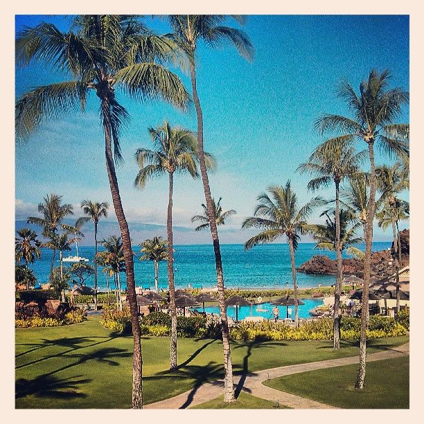 Good morning #Maui via  @Sean_Barnett from Sheraton Maui Resort & Spa