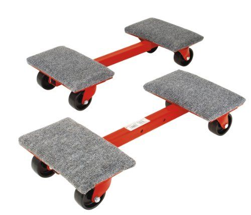 Roberts 10 575 Heavy Cargo Moving Dollies With 1 000 Pound Capacity And Ball Bearing Wheels 2 Pack Moving Dolly Furniture Dolly Furniture Wheels