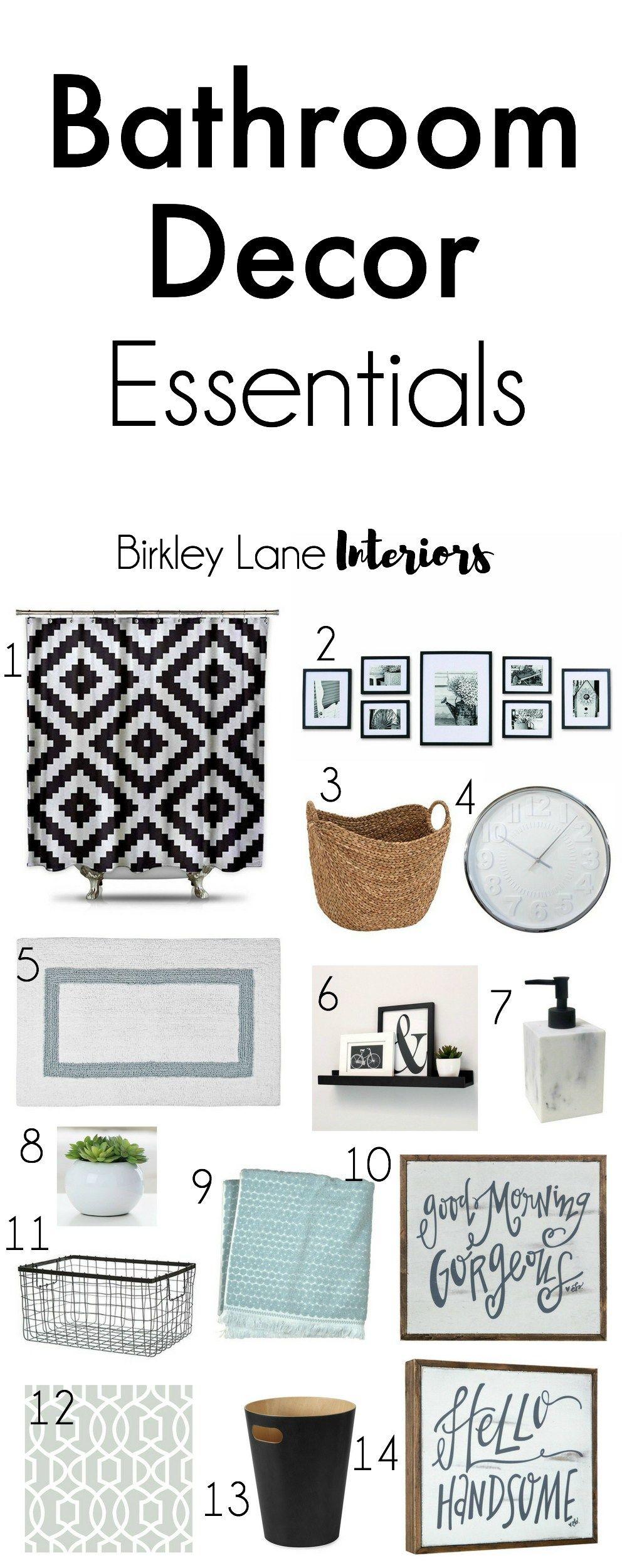 Photo of Bathroom Decor Essentials | Birkley Lane Interiors