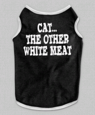 Cat the other White Meat Tanktop