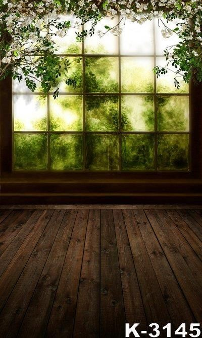 Free shipping new camera 5x7ft window spring scenic for Exterieur vieille maison